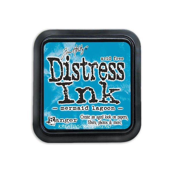 DISTRESS DYE INKS PAD - MERMAID LAGOON - MARS 2015