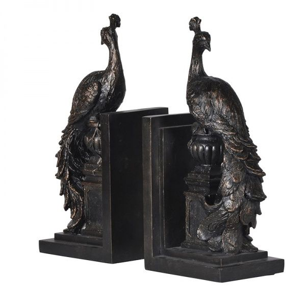 PEACOCK BOOKEND