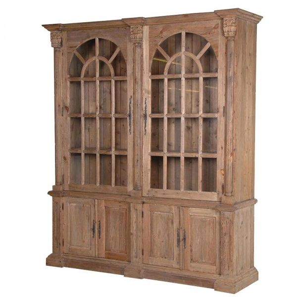 COLONIAL RECLAIMED BOOKCASE