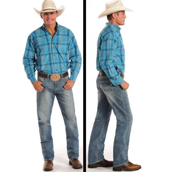 Rock & Roll Cowboy Tuf Cooper Competition Fit Jeans