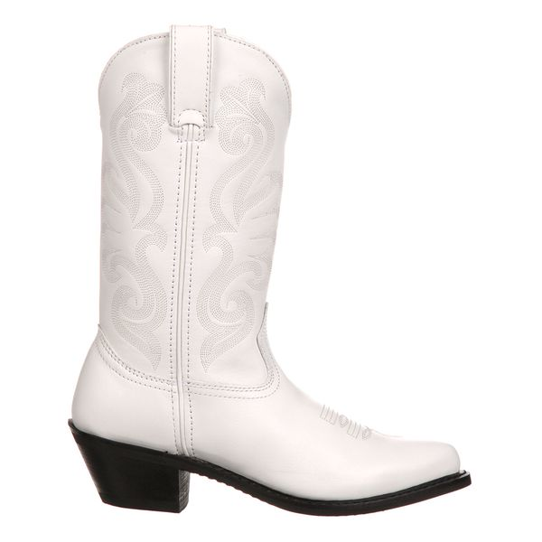 White Beauty Cowgirl Boots