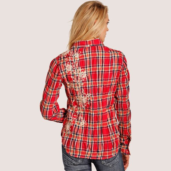 Rock & Roll Cowgirl Red Floral