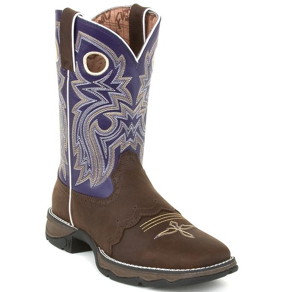 Rebel Twilight Cowgirl Saddle Western Boots