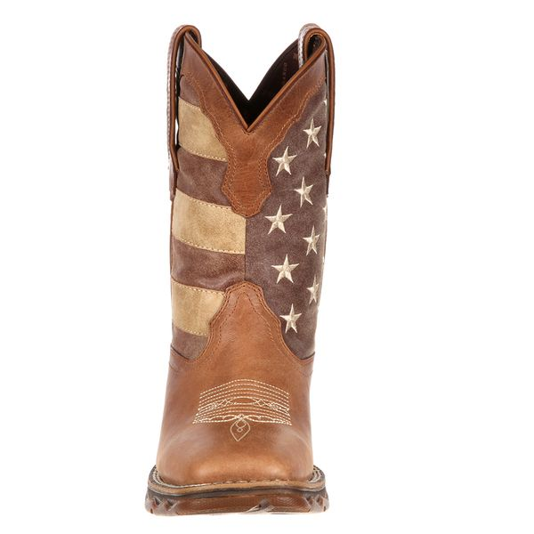 Rebel Cowgirl Faded Flag Western Boots