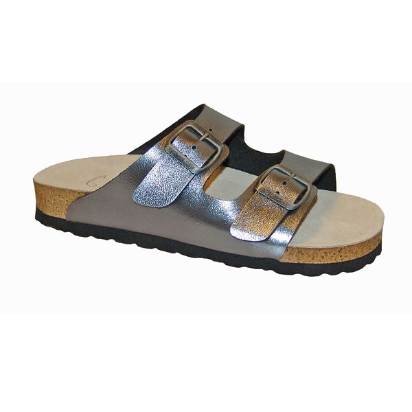 Grete Waitz sandal 1000 metal-grey