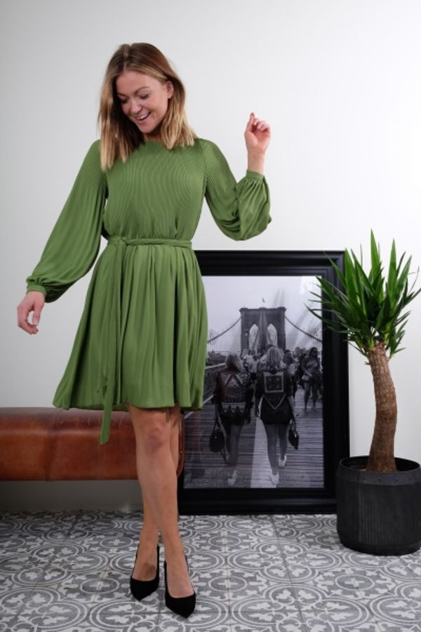 Miami Dress Forest Green - Cathrine Hammel