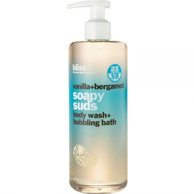 Bilde av Bliss Vanilla + Bergamot Soapy Suds Body Wash 473.2ml