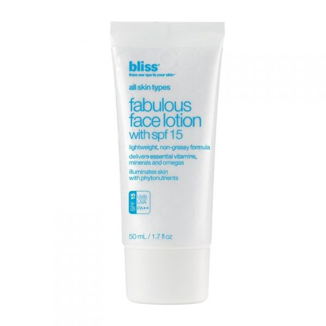 Bilde av Bliss Fabulous Face Lotion SPF 15 50ml