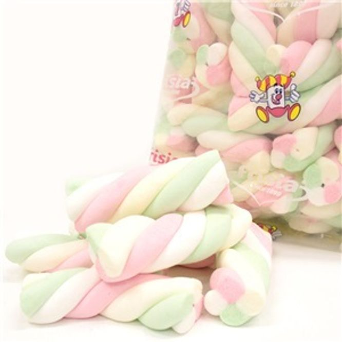 Bilde av Marshmallows Twists 1 kg