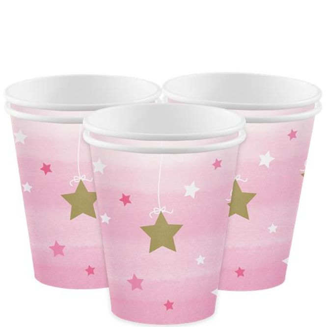 Bilde av Little Star Girl Pappkrus 8-pk