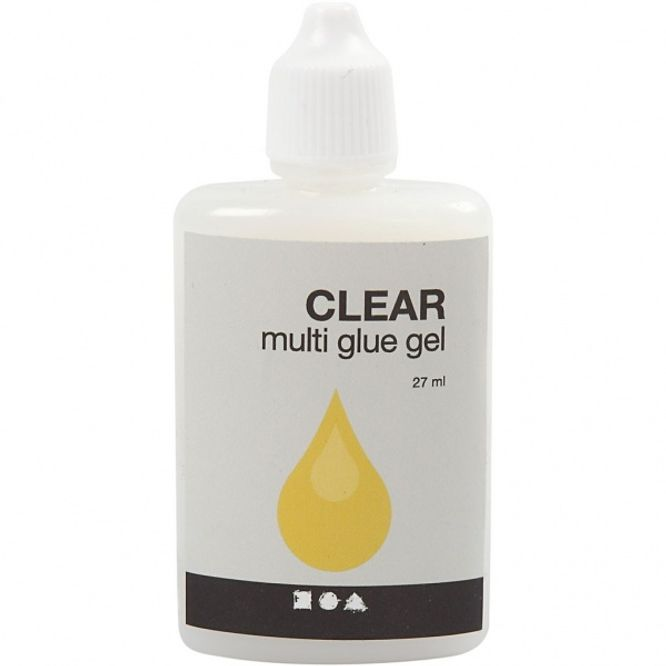 Bilde av Clear - Multi glue gel 27ml