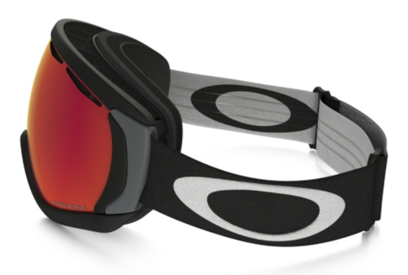 OAKLEY CANOPY MATTE BLACK PRIZM SNOW TORCH IRIDIUM