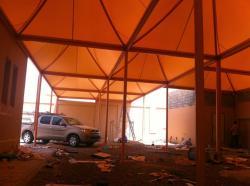 مظلات وسواتر هناجر انشاء المستودعات والمصانع 0555033128