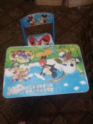 مكتب اطفال بالكرسي