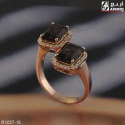 خاتم مصنوع من الماس والذهب