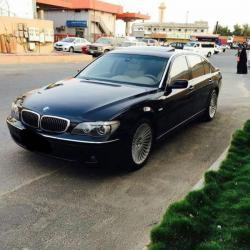 BMW 750 Li فل كامل نظيفه