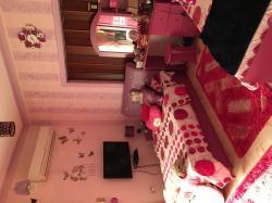 غرفة نوم بالديكور