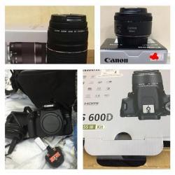 للبيع كاميرا كانون احترافية 600D