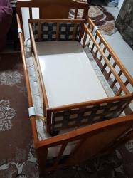 سرير اطفال مستويين مع المرتبه