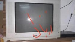 تليفزيون ٢١ بوصة مع ٢ ريسيفر للبيع
