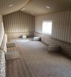 غرفه طول 12 عرض 3،20 رحا الماني