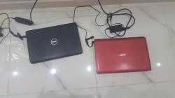 ٢ لابتوب . DEL اسود ، و acer و جهاز تلفزيون فلاترون LG