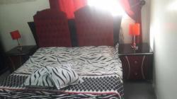 غرفة نوم مستخدمة