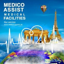Medico Assist للرعاية الطبية والإدارة الدولية للصحة تقدم خدماتها للمرضى