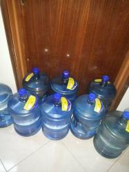 7 دبات مياه ازرق مستخدمين