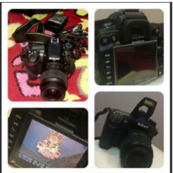 كاميرا نيكون D7000 احترافيه HDفل كامل