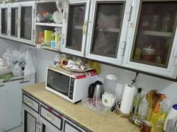 مطبخ المنيوم نظيف