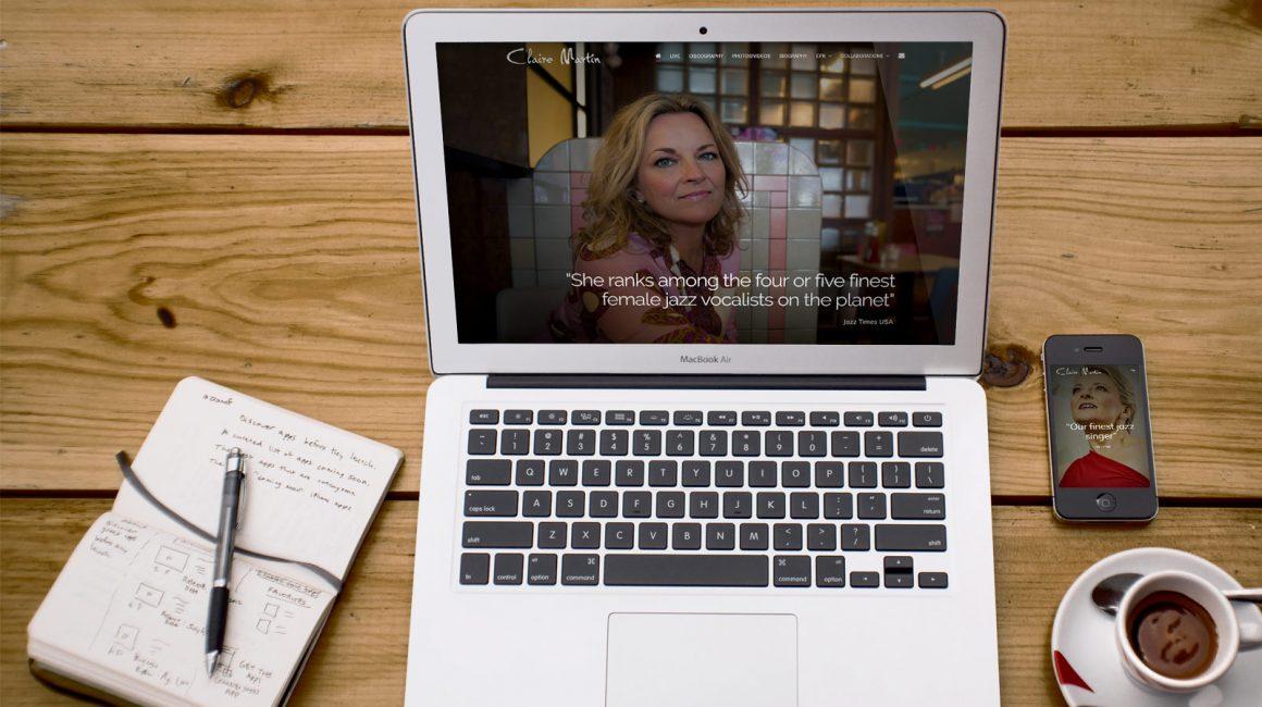 Claire Martin website