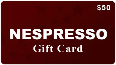 Nespresso Gift Certificate – Gift Ftempo