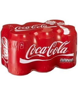 Coca Cola Coke Can 330 ml Pack of 6
