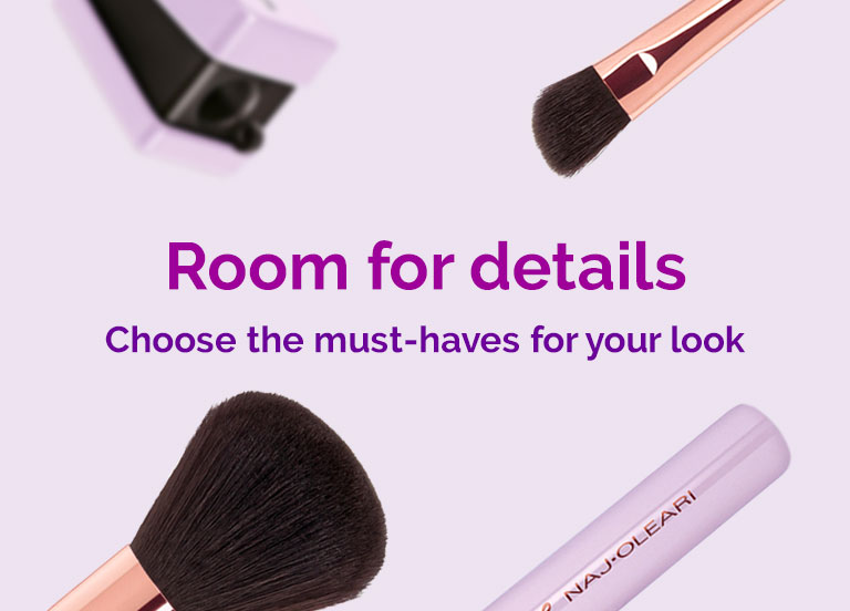 Naj Oleari Beauty - Brushes and accessories