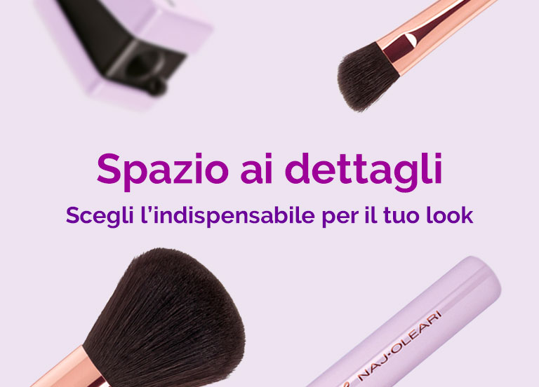 Naj Oleari Beauty - Pennelli e accessori