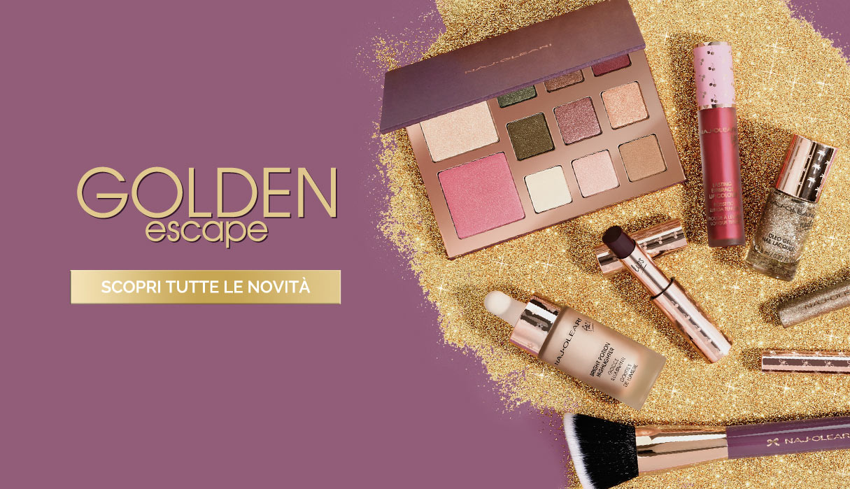 Naj Oleari Beauty - Golden Escape Collection
