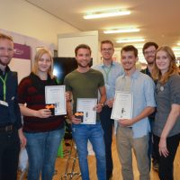FH Hagenberg, Next 2017, Karrieremesse, Winners, Sign Hacker Game, Namirial, Certificates, Career Fair