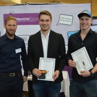 HTL Grieskirchen, Karrieretag 2017, Karrieremesse, Winners, SignHacker, Namiral Group, Career Fair, Career Day