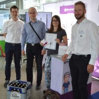 Teconomy, Linz, 2018, Career Fair, Namirial, Sign Hacker Game, Winner, Certificate