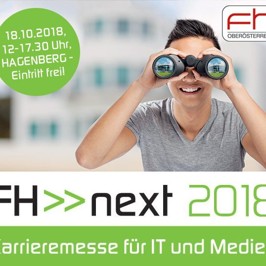 Background, FH Hagenberg, Next 2018, Career Fair