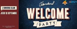 INTÉGRATION ERASMUS - International Welcome Party