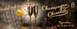 Happy New Year ! Champagne & Chocolat !