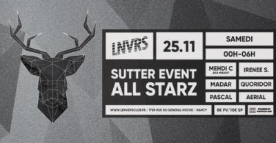 affiche_Sutter Event All Starz