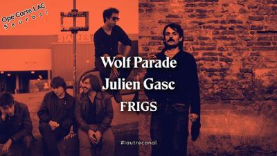 affiche_Wolf Parade • Julien Gasc • Frigs