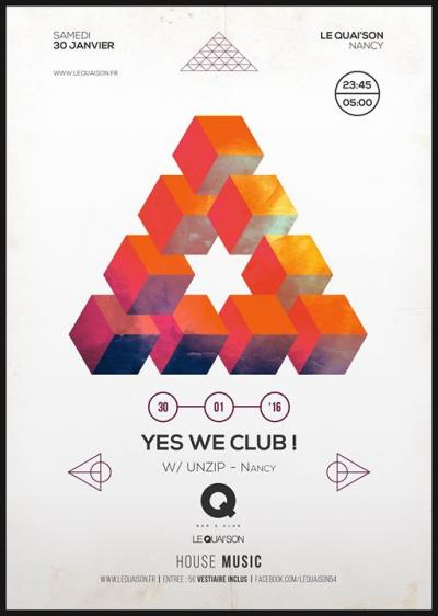 YES WE CLUB! W/ UNZIP