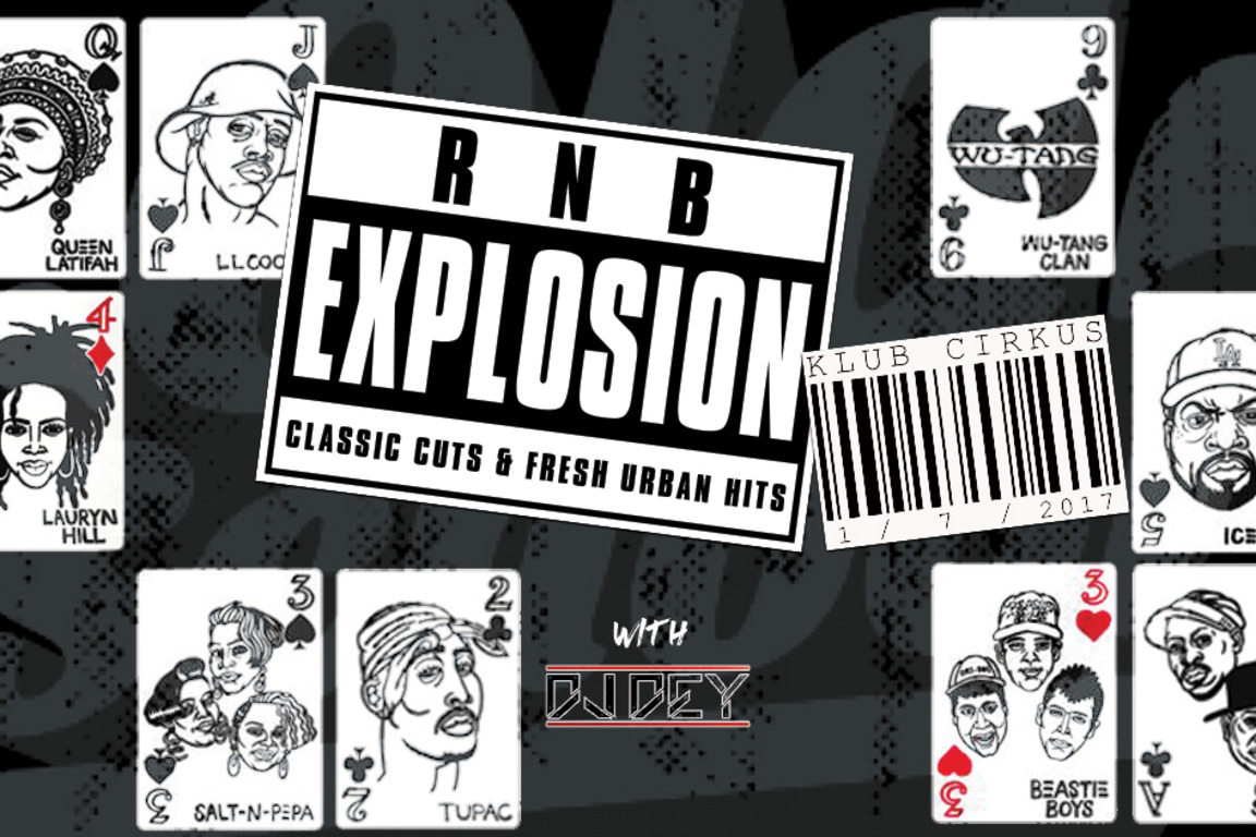RnB Explosion: Classic Hits & Fresh Urban Cuts