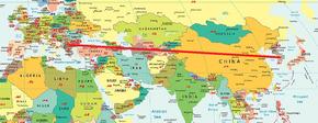 Eindstand wereldkaart