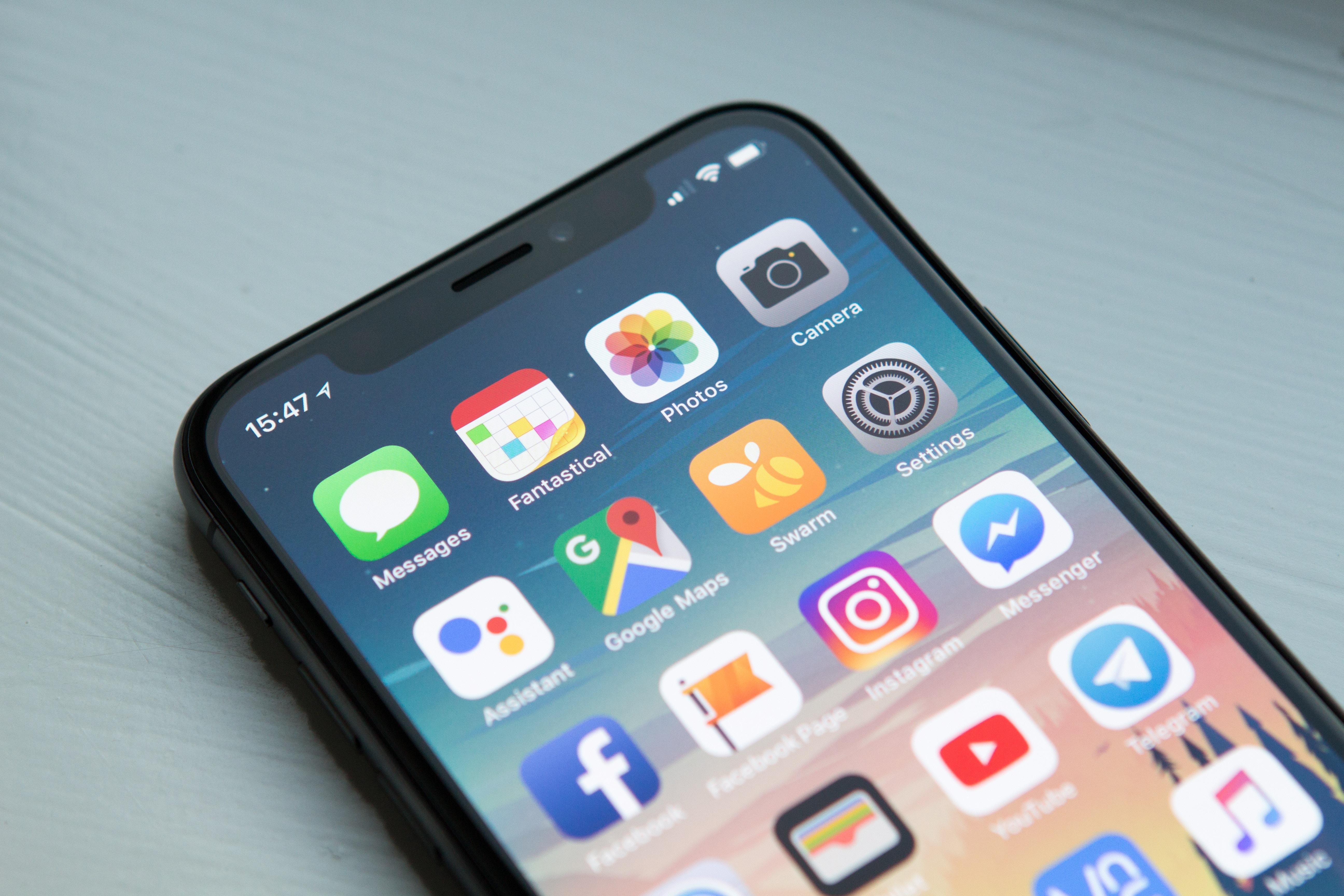 Foto touchscreen smartphone
