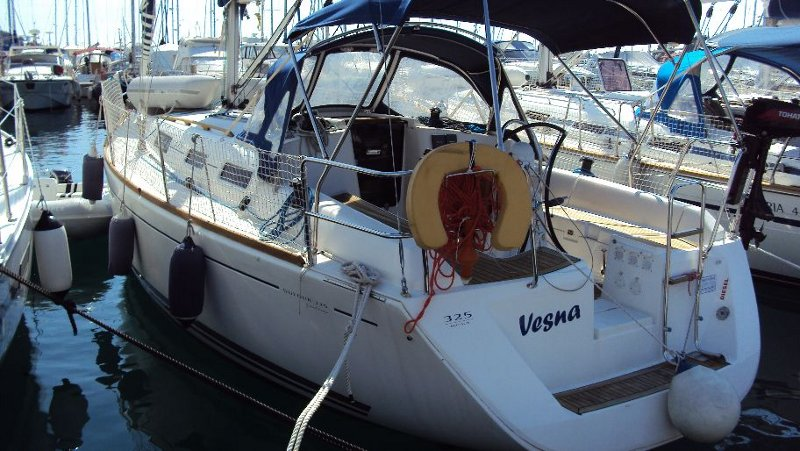 Dufour 325 GL, Vesna
